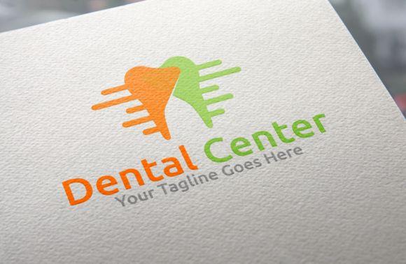 Dental Center Logo by REDVY on Creative Market