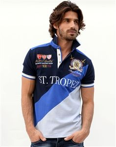 Absolute Rebellion Polo St. Tropez Blue