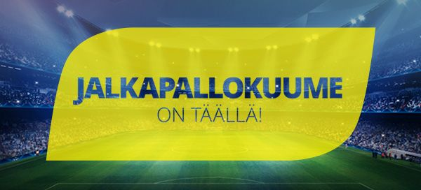Jalkapallon MM-kisat ovat käynnissä!  Lue lisää meidän mahtavasta Jalkapallokuume -kampanjastamme uutisosiostamme!