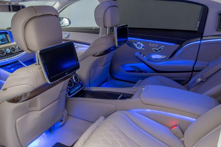 Mercedes-Maybach rear seats