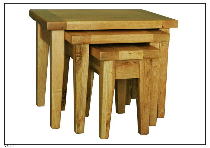 VA-013 Nesting Tables (3) (680mm x 440mm x 540mm High 490mm x 370mm x 490mm High 300mm x 300mm x 440mm High)