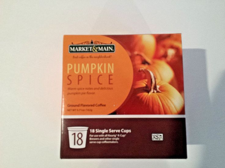 Pumpkin Spice K Cups Keurig Coffee 18 Count #MarketMain