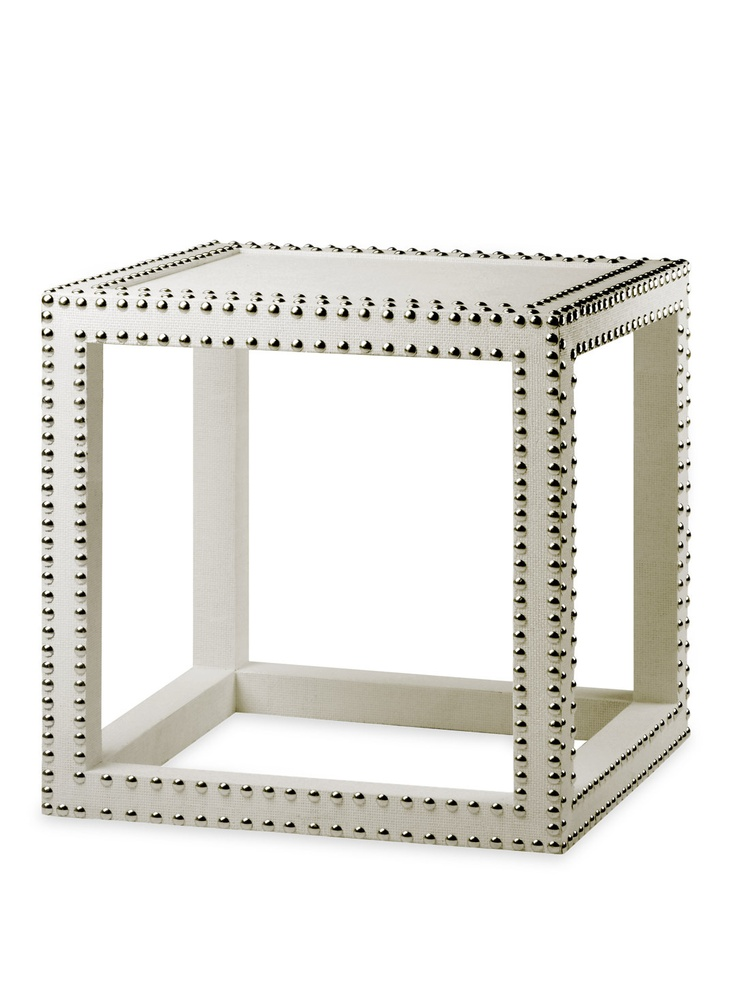 i need this amazing piece of furniture for my living roomDecor, Low Side, Nails Head, Side Tables, Low Tables, Marco Low, Living Room, White, Nailhead