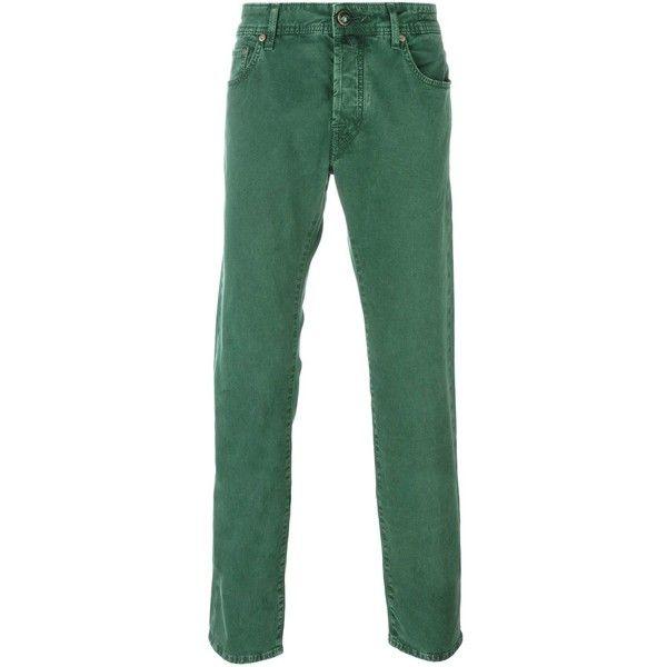 Green Bootcut Jeans - Xtellar Jeans