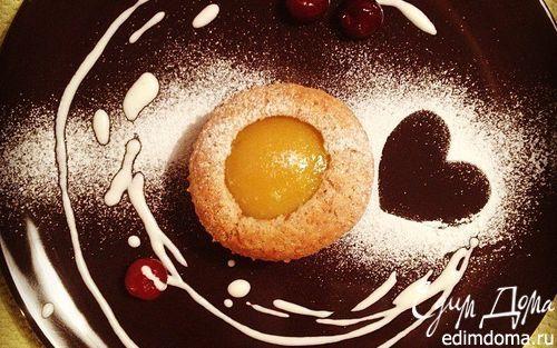 Миндальные кексы с персиками | Кулинарные рецепты от «Едим дома!»