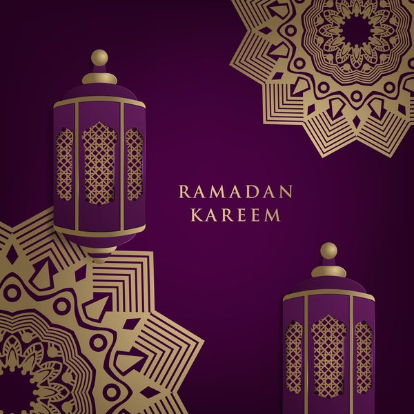 Cute Cat Wallpaper For Phone Free Eps File Islamic Ramadhan Purple Backgrounds Vectors