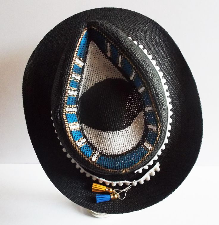 Make a scene! Summer look stylish and trendy just for you by mademeathens. #summerlook #hats #bags #accessories #evileye