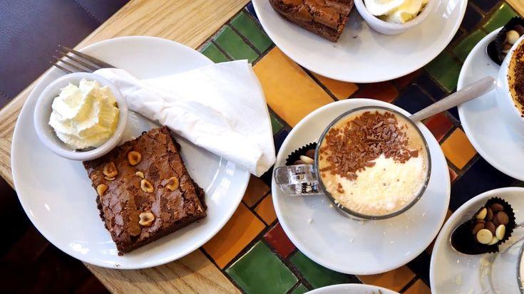 Coffee at O'Conaill Chocolate Shop