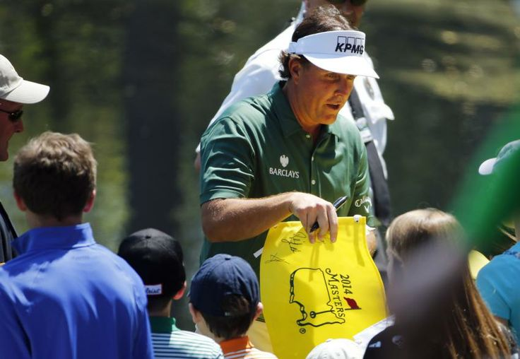 Phil Mickelson 2014 Masters |