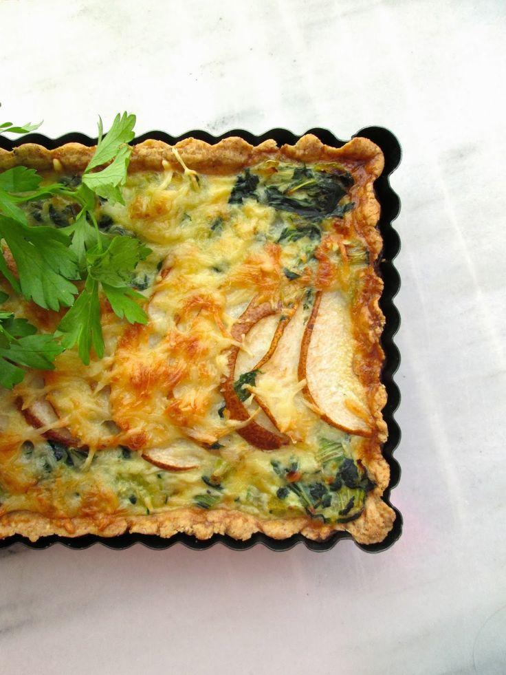 sí, te quiero verde: SWISS CHARD, LEEK & PEAR TART | Dinner Ideas ...