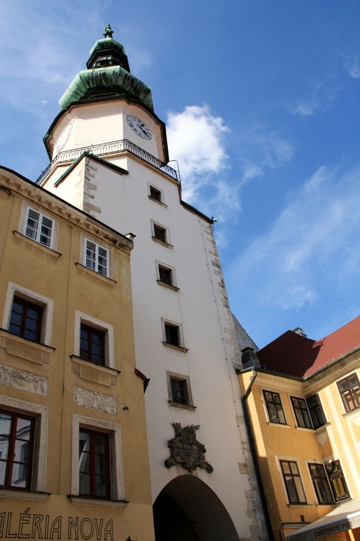The Michael´s gate in Bratislava. I recommend you to go upstairs, to have a beautiful view at the whole Old town