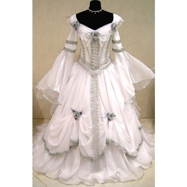 Discount Fantasy Fairy Medieval Gothic Wedding Dresses: 17 Best Images About Victorian Gothic Wedding Dresses On