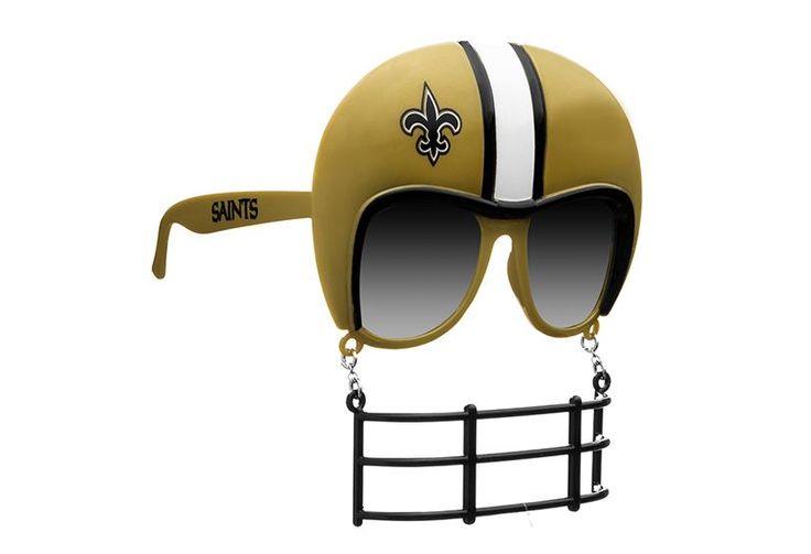 New Orleans Saints Novelty Sunglasses Helmet Facemask