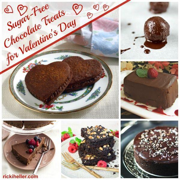 50+ #Vegan, #sugar-free, #gluten-free Chocolate Recipes