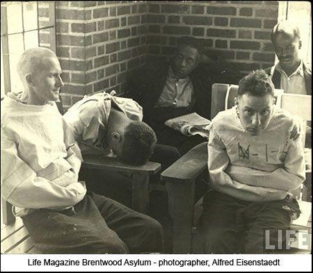 Brentwood Asylum.   Mental Asylum vintage photo