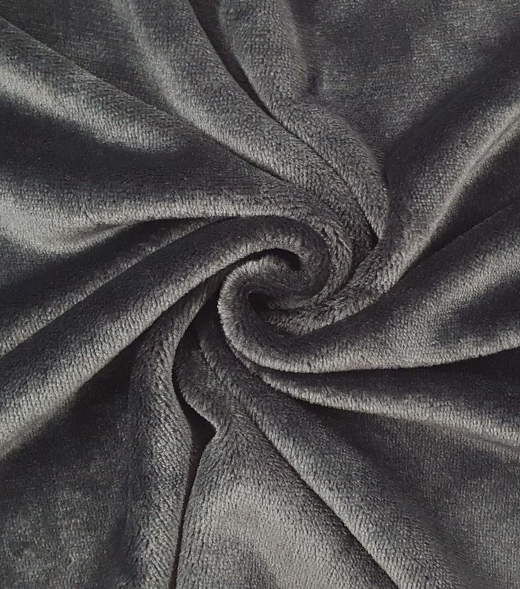 "Sew Lush Fleece Fabric 57""-Black"