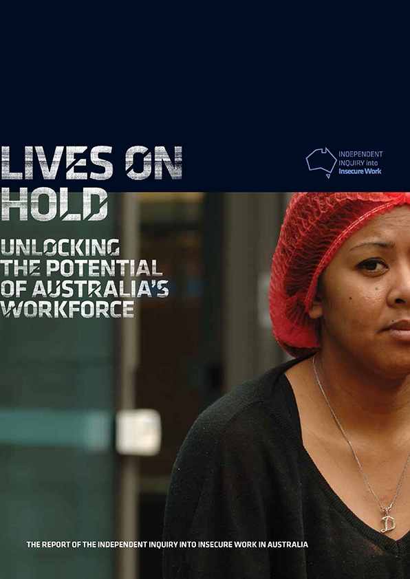 It's hard to believe it's a year since the Howe Inquiry into Insecure Work was conducting hearings around Australia.     You can revisit the findings of this landmark inquiry through this freshly produced and easily digestible 4 page summary.    http://www.actu.org.au/Images/Dynamic/attachments/6637/Howe%20inquiry%204pp%20summary%20Feb%202013.pdf