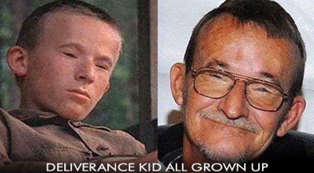 Billy Redden - The banjo playing boy in the 1972 film Deliverance