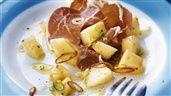 Melon med prosciutto, chili och citron | Recept