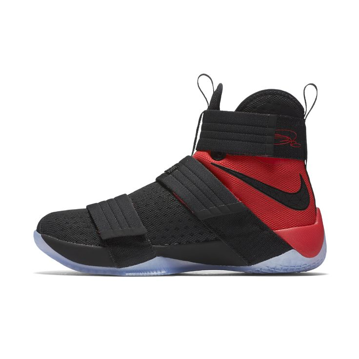 Nike Zoom LeBron Soldier 10 SFG Men's Basketball Shoe Size 11.5 (Black) - Clearance Sale