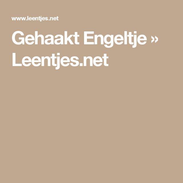 Gehaakt Engeltje » Leentjes.net