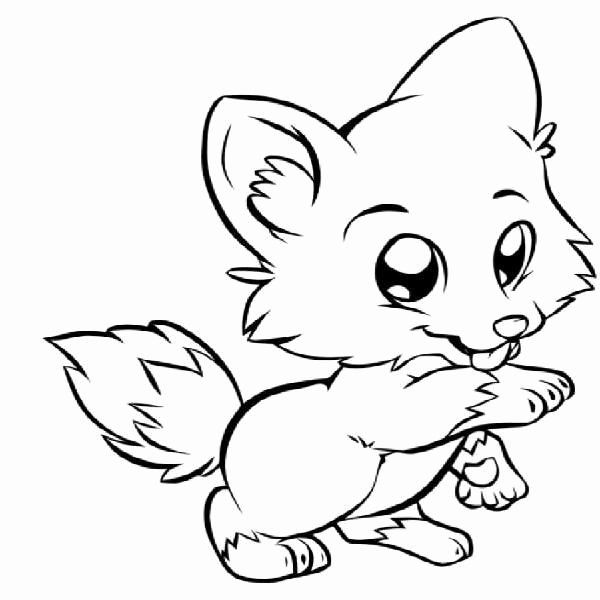 Fox Coloring Pages For Kids In 2020 Fox Coloring Page Puppy Coloring Pages Cute Coloring Pages