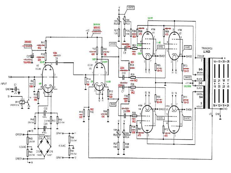 velleman k8010 ampli de puissance       diyparadiso com  vellemank80101 htm