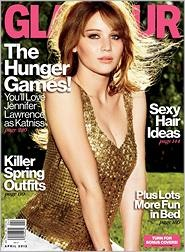 Can't wait to read this new issue: The Hunger, Hair Colors, Haircolor, Glamour Magazines, The Faces, Hunger Games, April 2012, Magazines Covers, Jennifer Lawrence