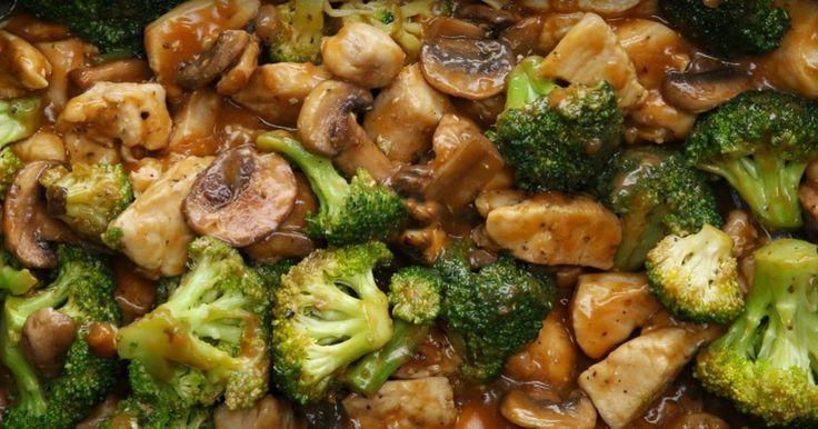 Champignons, poulet, brocolis... Une recette EXPRESS quand on a peu de temps pour cuisiner