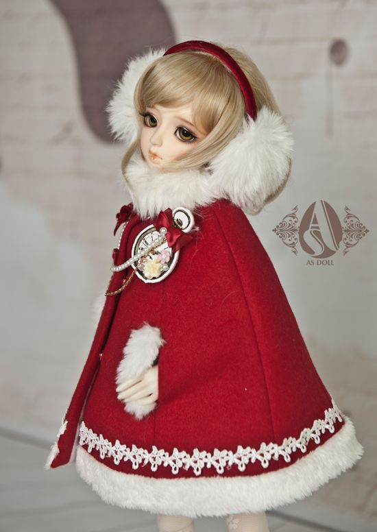 bjd cloth (1/4 sweat mantle (ear warm as a gift) from Angell-studio