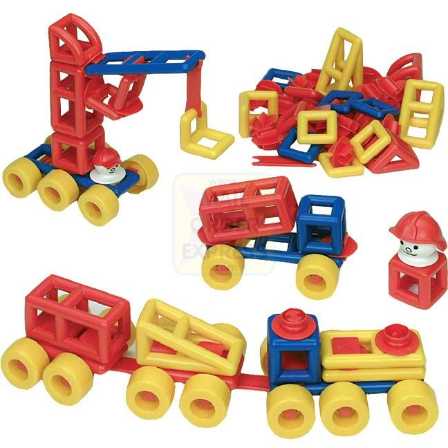 Construction Toys For Preschoolers : Construction toys dd modular monsters pinterest