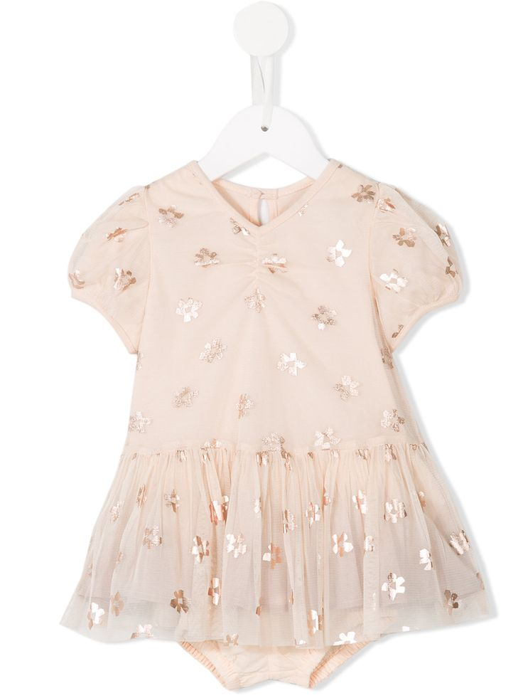 #stellamccartney #kids #babies #dress #pink #nude #floral www.jofre.eu