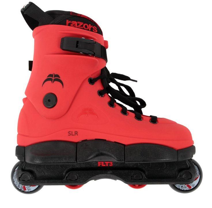 Razors SLR Complete Skates - Red