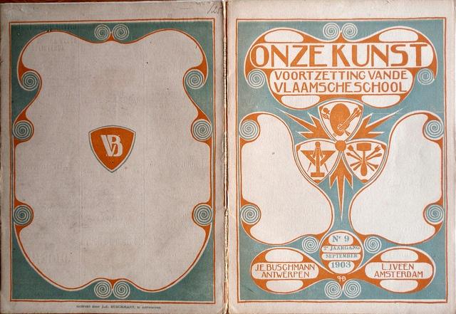 b Omslag ontwerp, cover design Einband Entwurf: Hendrik P. Berlage 1856 - 1935 by aaldersa, via Flickr