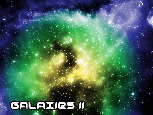 Galaxies II by Sunira.deviantart.com on @DeviantArt