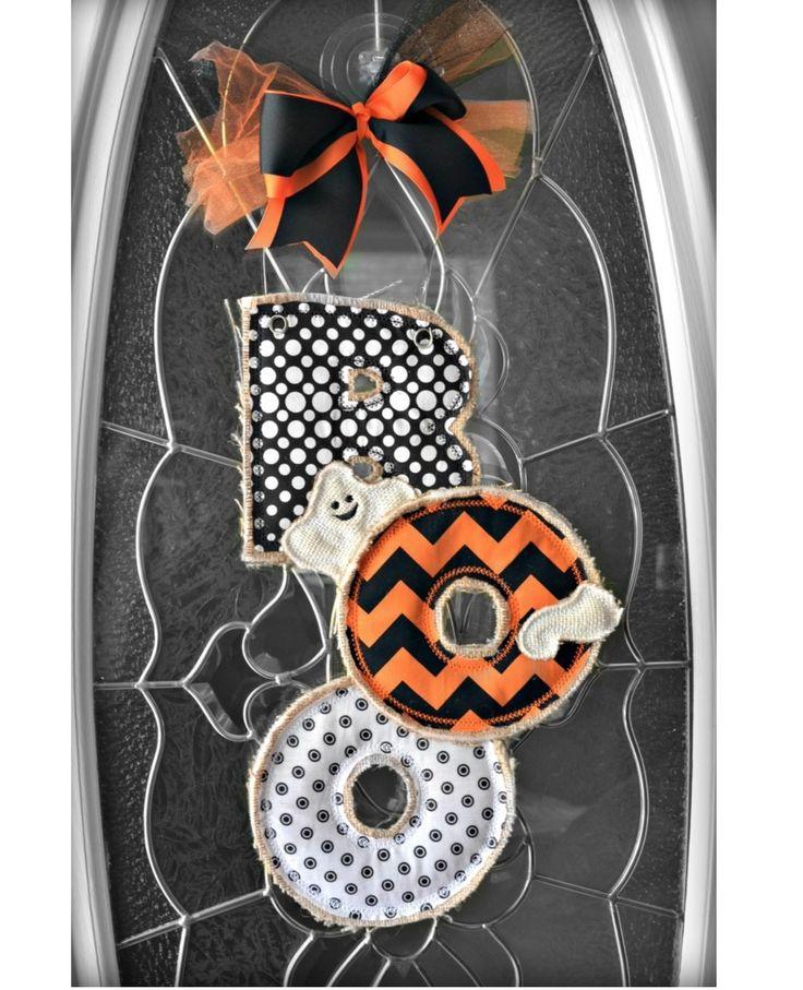 Hang to Dry Applique - Boo Door Hanger, $5.99 (http://www.hangtodryapplique.com/boo-door-hanger/)