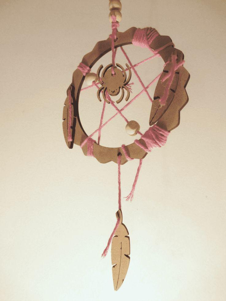 KIT ATRAPASUEÑOS <Mini> - armado en rosa.