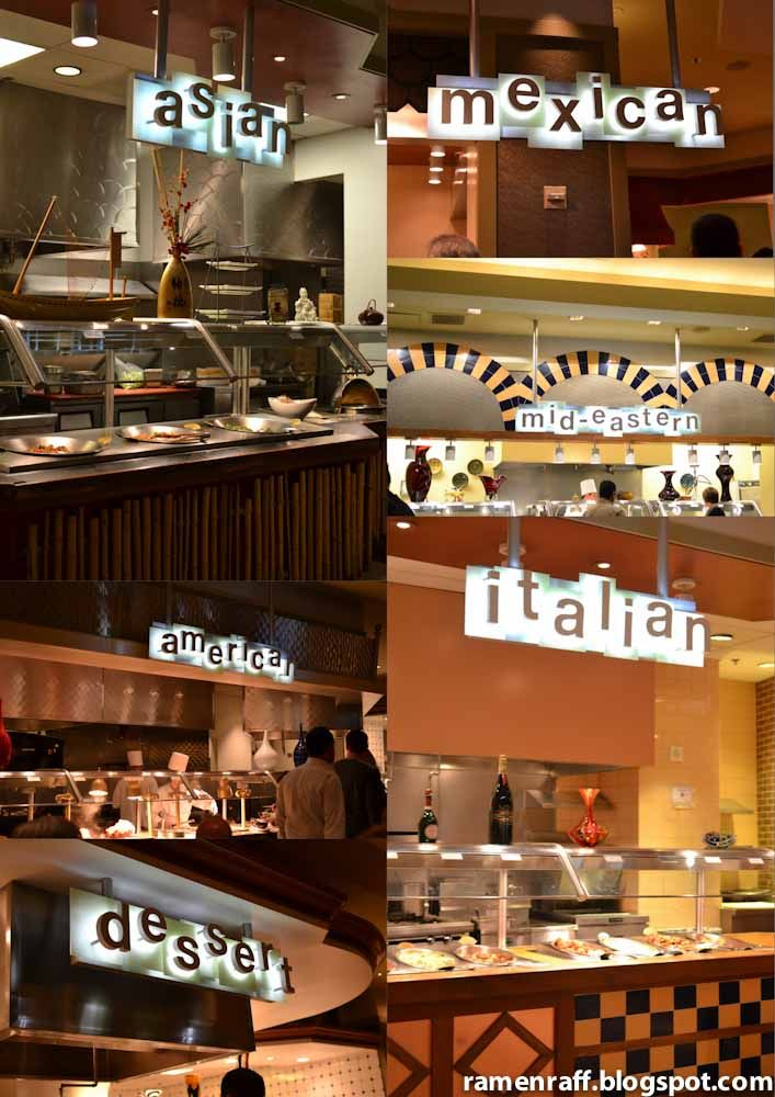 Las Vegas Eats - Part 2 - Buffets : Spice Market (Never been) Planet Hollywood