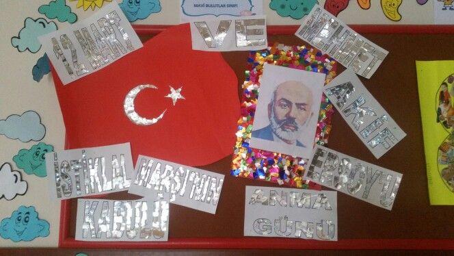 12 Mart istiklal Marşının kabulü ve Mehmet Akif Ersoy'u anma günü
