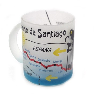 Pilgrim cup. Handmade in Galicia. Artcraft of The Way of St.James. Tax free $5.50