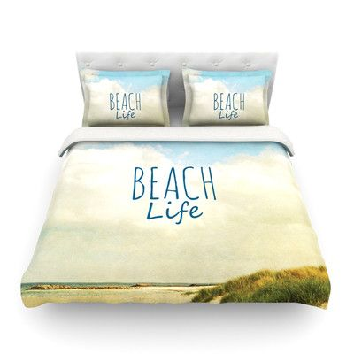 Beach Life Light by Iris Lehnhardt Duvet Cover | Wayfair