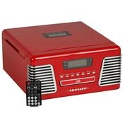 Toca-Discos-de-Vinil-com-Radio-AM-FM-CD-Player-e-USB-Audio---Classic-Vermelho