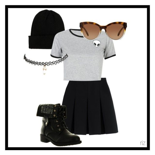 """""""Jessie Paege Outfit"""" by rizelleonly ❤ liked on Polyvore featuring NLY Accessories, Alexander Wang, WithChic, Refresh, Michael Kors and Wet Seal"""