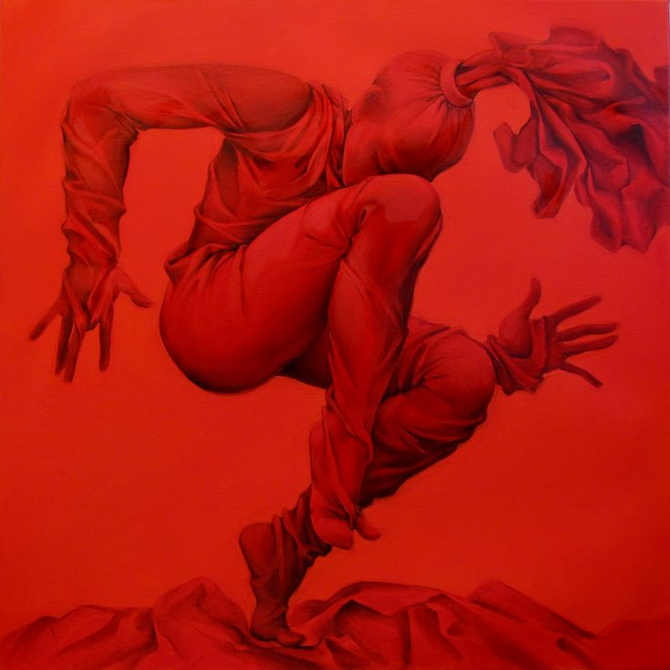 Dance in trance, oil on canvas, 80x80