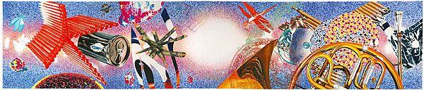 James Rosenquist. Time Dust (1992).