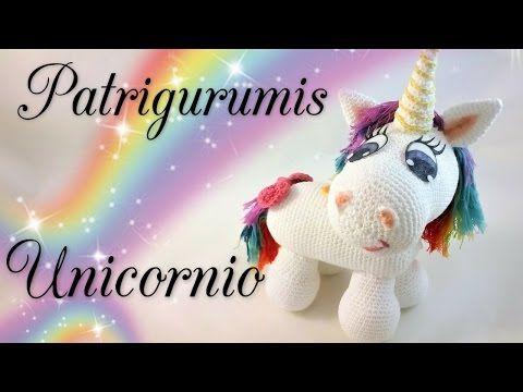 Cómo tejer Unicornio Amigurumi / 3 Tutoriales   Crochet y Dos agujas - Patrones de tejido