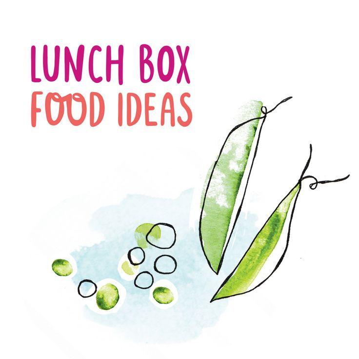 HUGE list of Lunch Box Food Ideas