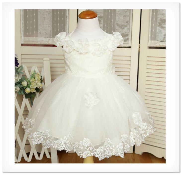 Ivory flower Girl dress Birthday Dress Toddlers Girl by PLdress