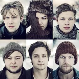 You'll Fall in 'Love Love Love' with Of Monsters and Men  Of Monsters and Men are a 6-piece indie/folk band from Iceland who burst onto the scene in 2010 when they were winners of Músíktilraunir, an annual band competition in Iceland. You've probably heard their song Little Talks playing on not just alternative radio stations, but even pop/top 40 radio.