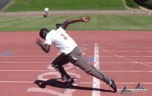Olympic Sprinters: Why Should I Drag My Toe?  Todays Sunday Article is Guest Blogged by Coach Adarian Barr and Mrs Alysson Bodenbach.  Written by Adarian Barr and Alysson Bodenbach  For more info Contact adarian@tijako.com or www.nextlevelathleticsandfitness.com  ...  Toe drag out of a block start is becoming more and more common amongst elite sprinters.   #Asafa Powell #Justin Gatlin #Lolo Jones #Sport #Sprint #Swimming (sport) #Track and Field #Usain Bolt